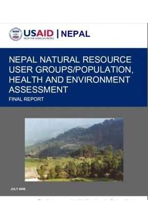 Nepal Natural Resource User Groups/Population, Health and Environment Assessment