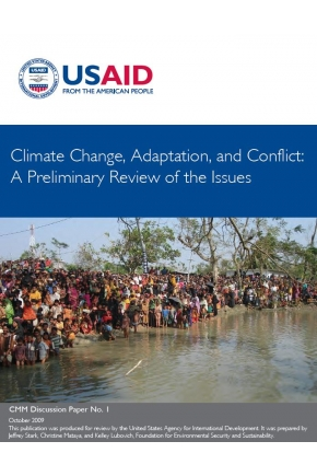 Climate Change, Adaptation, and Conflict: A Preliminary Review of the Issues