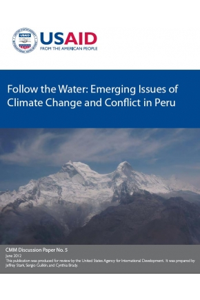 Follow the Water: Emerging Issues of Climate Change and Conflict in Peru