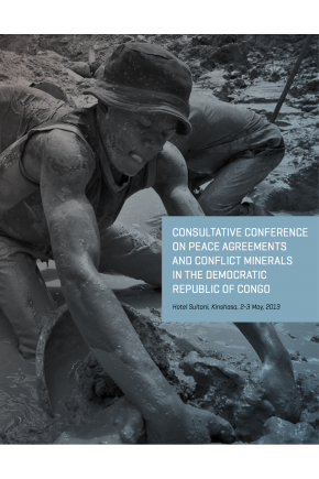 Consultative Conference on Peace Agreements and Conflict Minerals in the Democratic Republic of Congo