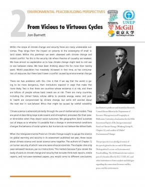 Perspectives 2: From Vicious to Virtuous Cycles (Jon Barnett)